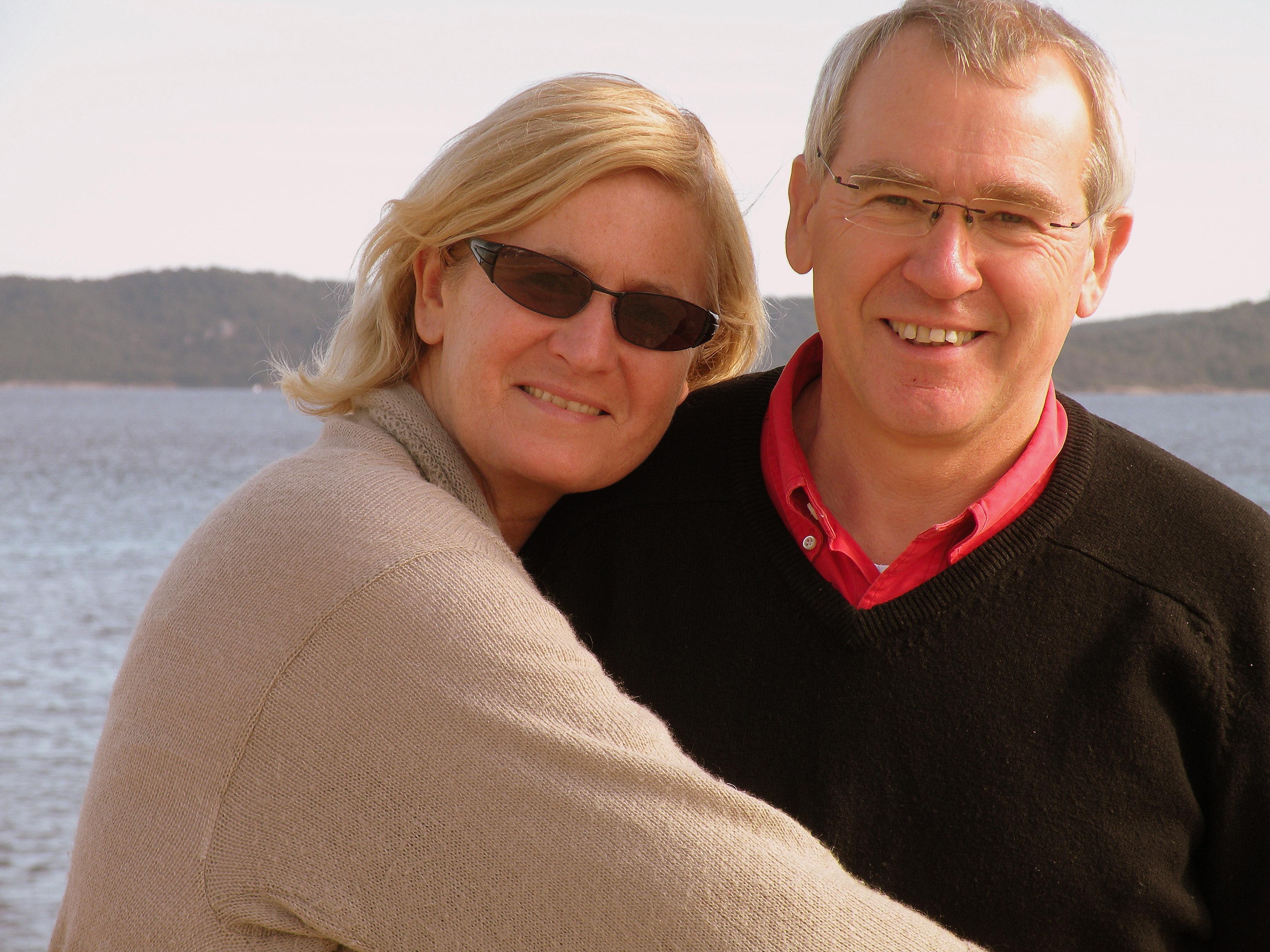Caroline et Luc Delesalle les propriétaires de La Verdière
